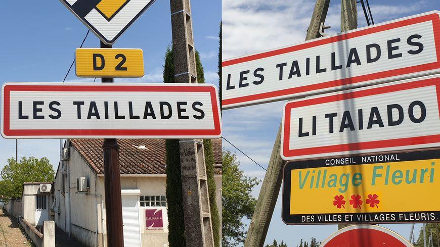 La moitié des entrées de ville des Taillades ont vu leur panneau provençal retiré.