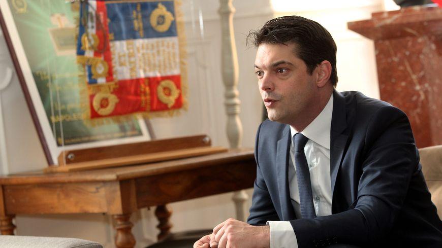 Le maire de Grasse Jérôme Viaud, dans son bureau. (Image d'illustration)