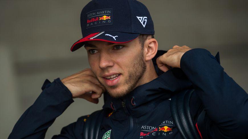 Pierre Gasly est débarqué de l'écurie Redbull dès le prochain Grand Prix de Belgique