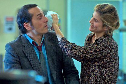 """Alice Taglioni et Vincent Elbaz dans le film  de Julien Weill, """"Andy"""", sortie le 4 septembre 2019."""