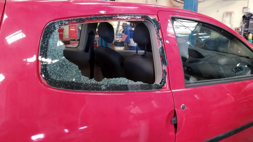 Les fenêtres n'ont pas supporté la grêle
