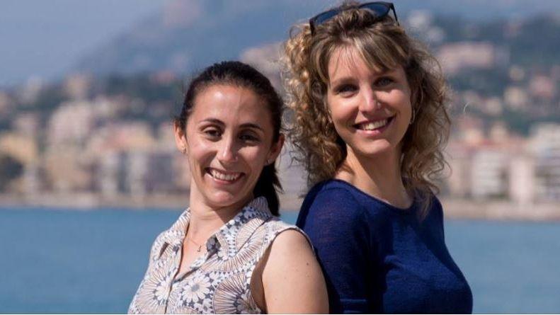 """Aurélie Tata et Célia Andrès les """"étoiles de l'Azur"""""""