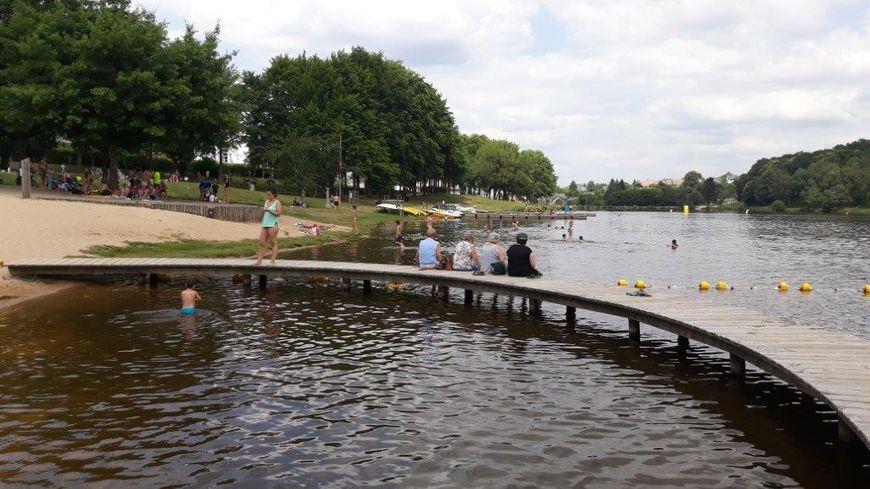 Fini la baignade à l'étang de Courtille : l'eau va permettre de fournir les robinets de la ville