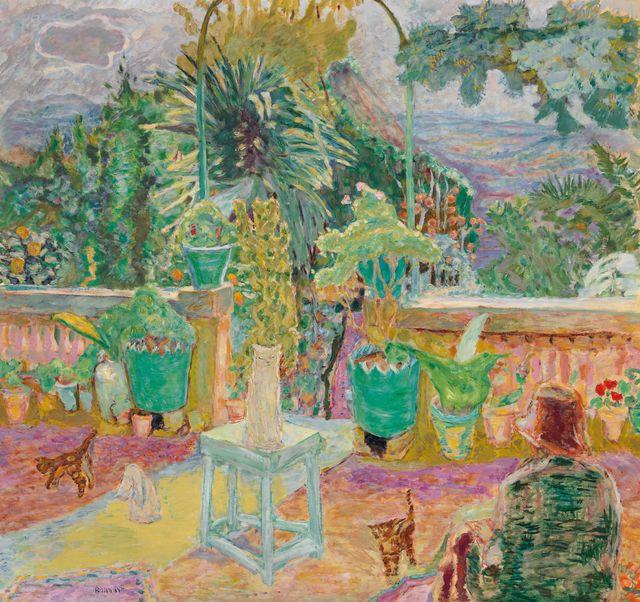 """La """"Terrasse à Grasse"""" s'est vendue 19,5 millions de dollars."""