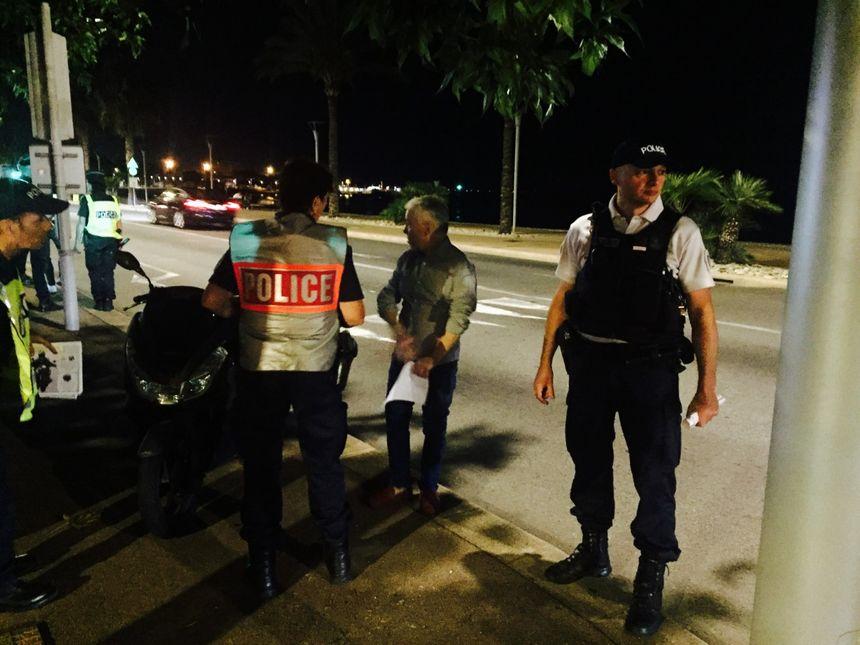 Après l'opération sensibilisation sur le port de Saint-Laurent, un contrôle routier est organisé