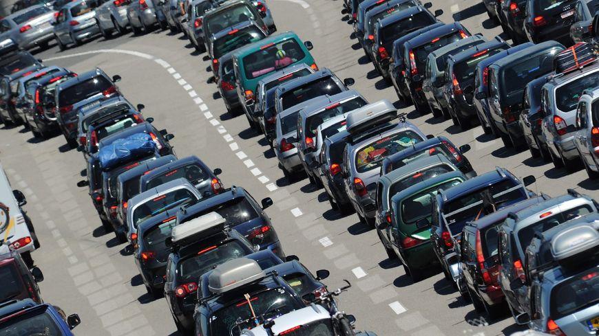 Embouteillages (illustration)