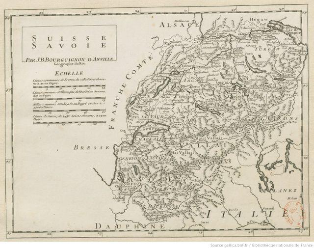 Le francoprovençal, langue régionale transfrontalière (France, Suisse, Italie), XVIIIe siècle