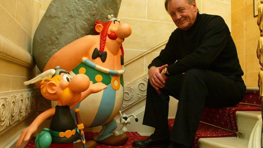 Albert Uderzo, illustrateur et co-créateur du personnage d'Astérix