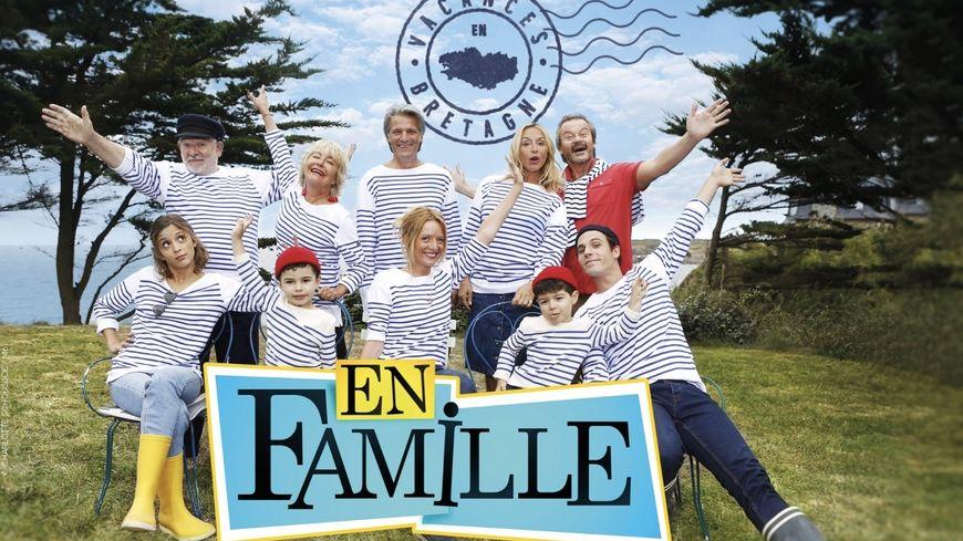 La famille Le Kervelec se retrouve en Bretagne dans son berceau natal.