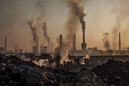 Pollution atmosphérique en Chine en 2004
