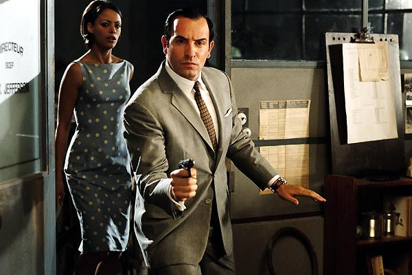 Jean Dujardin et Bérénice Bejo dans OSS 117 Le Caire nid d'espions (2006) de Michel Hazanavicius