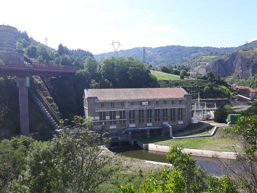 L'usine EDF de Monistrol d'Allier