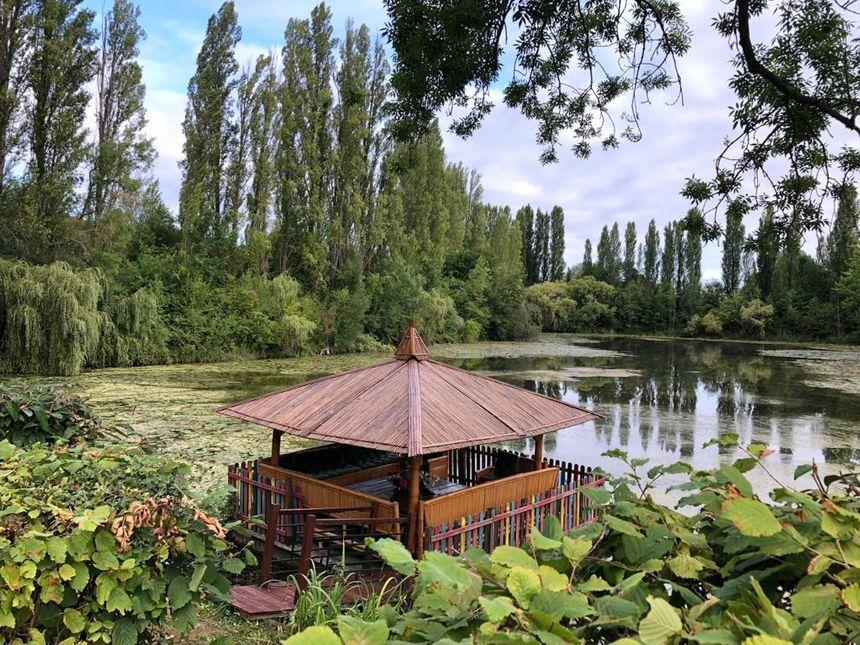 Les Containers de Saintry-sur-Seine, un lieu idyliique au bord d'un étang