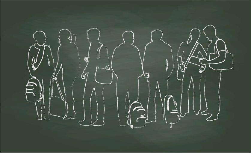 Près de quatre élèves sur cinq est mal à l'aise lorsqu'il doit remplir une fiche de renseignements à la rentrée.