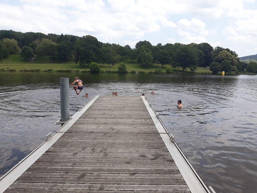 Si l'étang de Courtille est pompée, la baignade devra être interdite