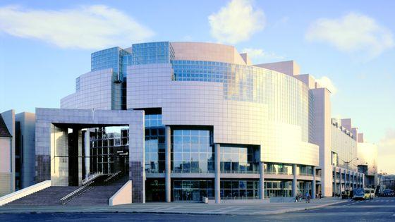 La salle de l'Opéra Bastille