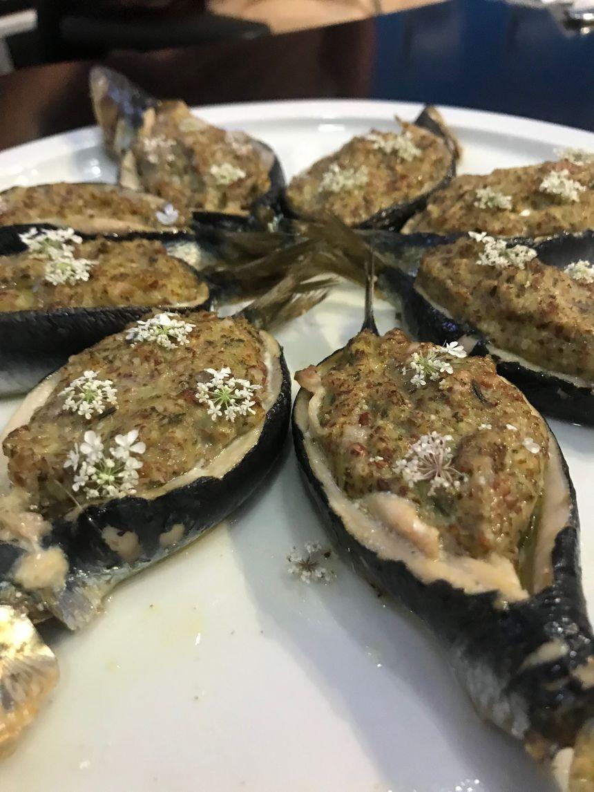 Sardine, câpres, citron helychryse