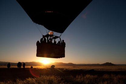 Safari en montgolfière en Namibie