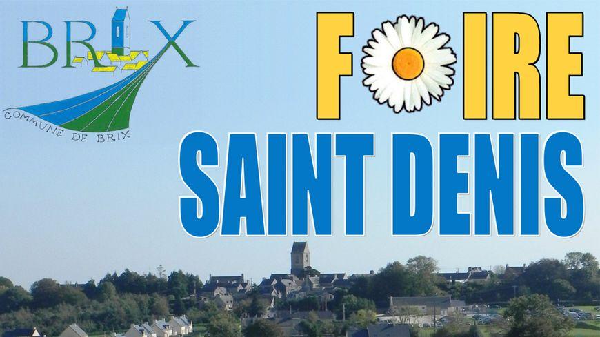La Foire Saint-Denis à Brix dans la Manche avec France Bleu Cotentin