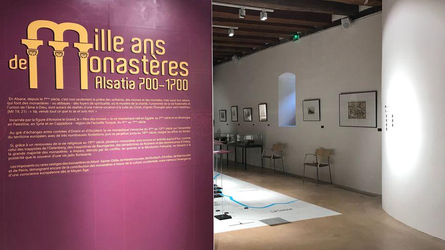 """L'exposition """"Mille ans de monastères"""" est ouverte jusqu'au 15 décembre."""