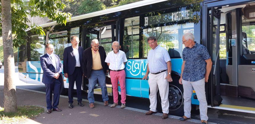 Les élus de Saint-Lô Agglo ont inauguré la nouvelle marque SLAM ce lundi 26 août 2019