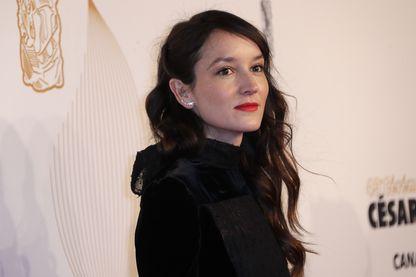 L'actrice Anaïs Demoustier, à la cérémonie des César, le 2 mars 2018.
