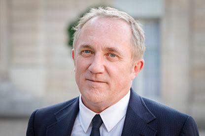 Le PDG de Kering, François-Henri Pinault, au palais de l'Elysée, le 23 août 2019.