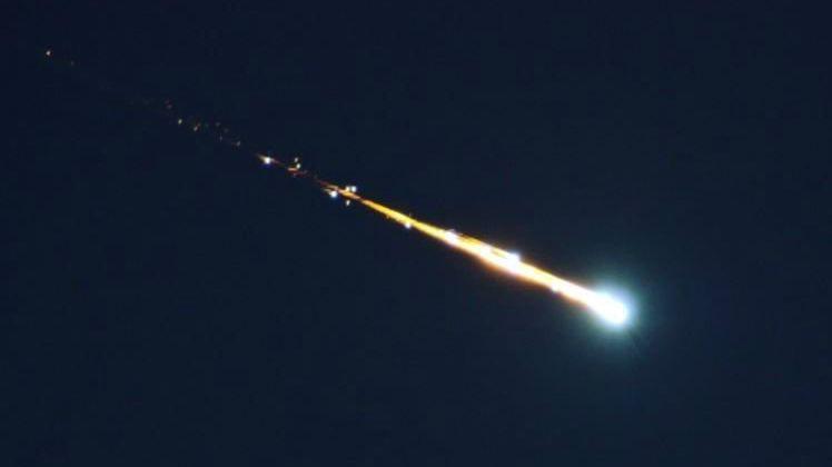 Météorite or not météorite dans le ciel corse ?