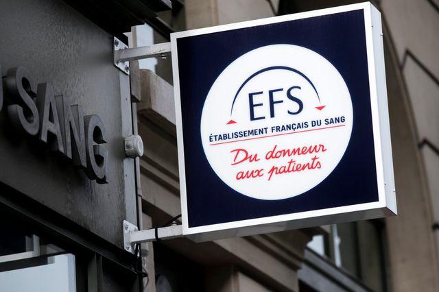 Maison du don de l'EFS, l'Établissement français du sang, à Paris.