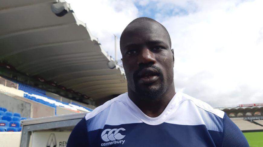 Le troisième ligne Mahamadou Diaby sera capitaine pour ce troisième match de préparation