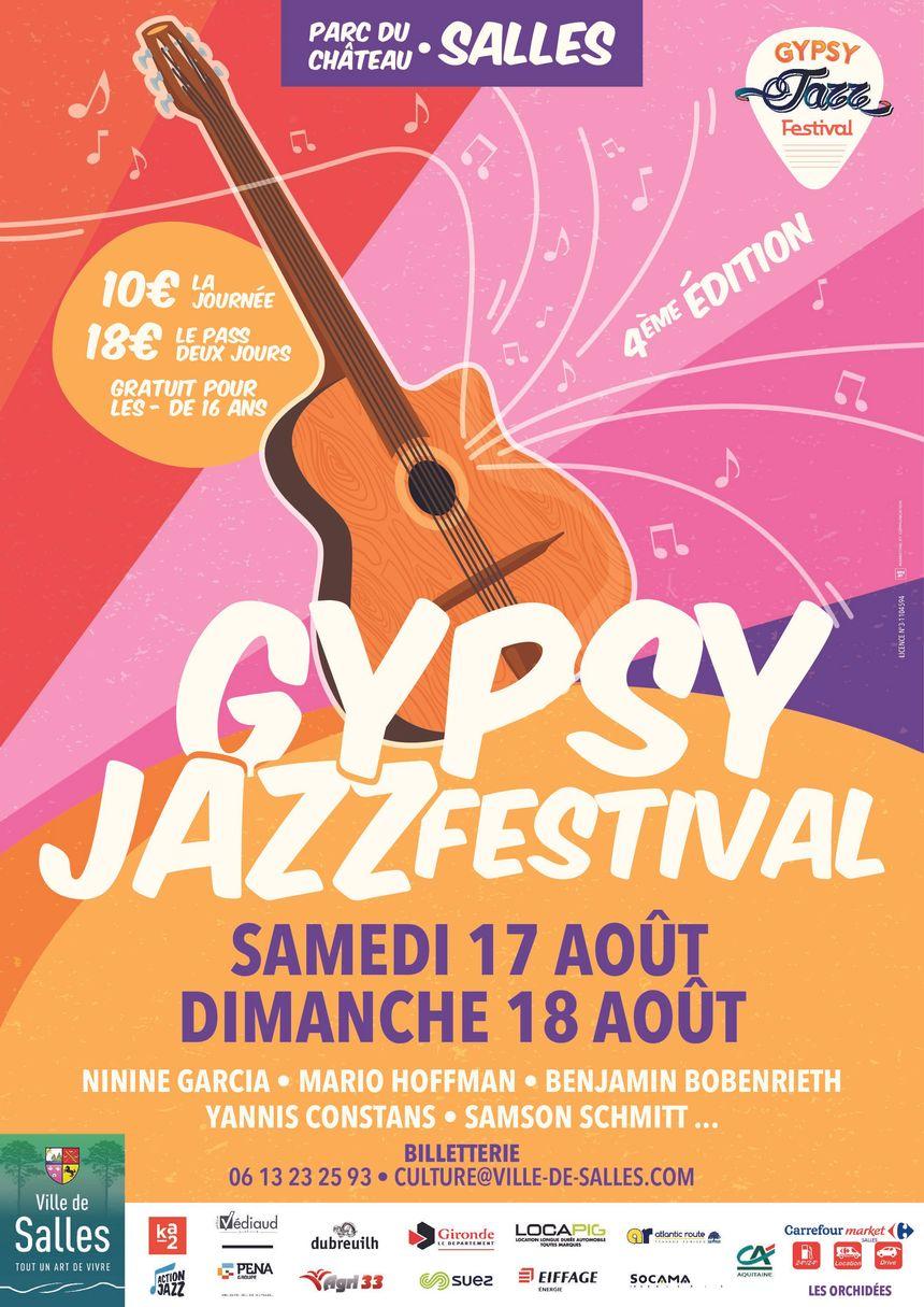 Gypsy Jazz Festival de Salles