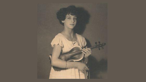 Ginette Neveu petite fille