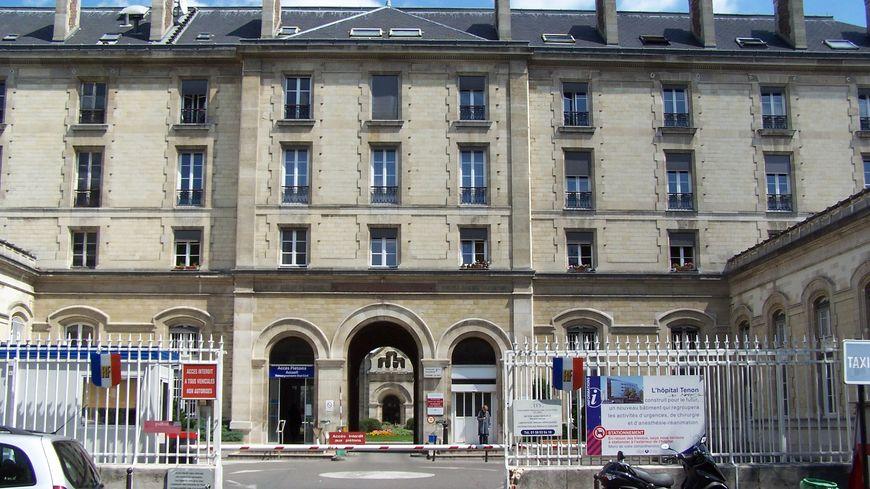 L'Hôpital Tenon dans le XXe arrondissement