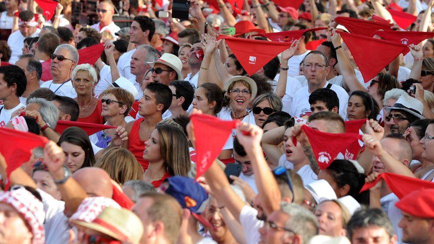 La foule lors de l'ouverture de la Feria de Dax