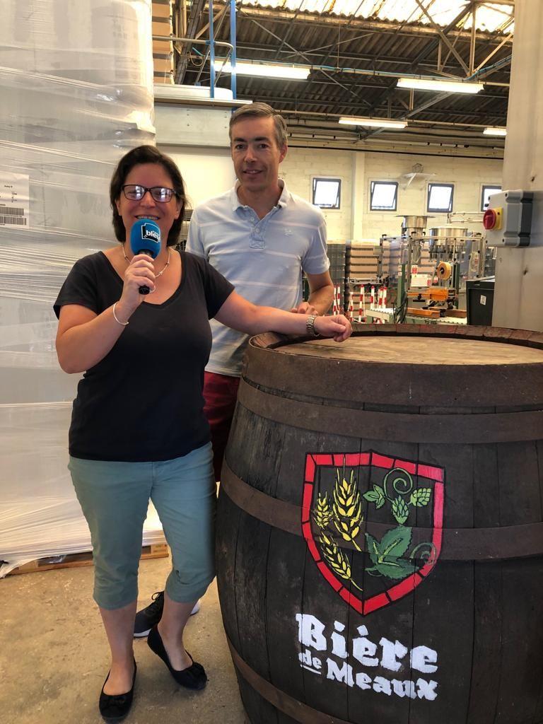 Ludivine & Sébastien Hurand - Brasseurs de la bière de Meaux