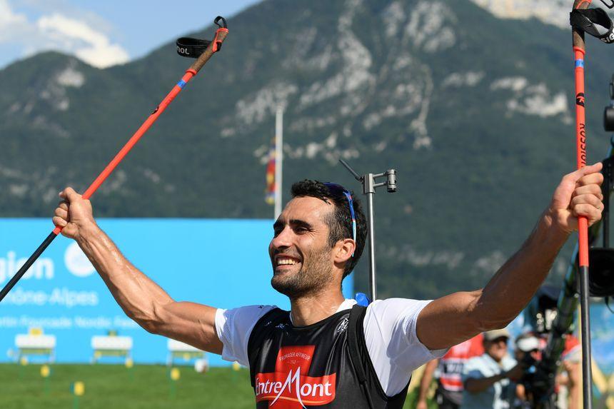 Martin Fourcade s'est imposé dans l'épreuve du mass-start de biathlon