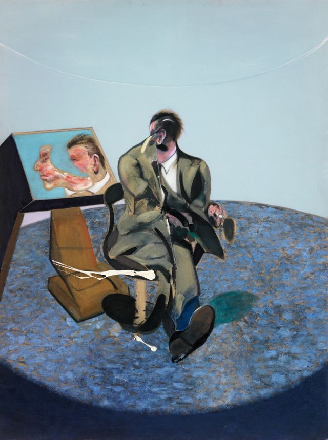 Francis Bacon Portrait of George Dyer in a miror 1968 Com Agneli The estate of Francis Bacon Adagp Paris and DACS London 2019