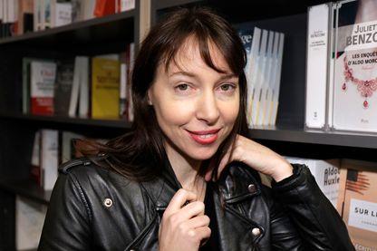 La chanteuse Jeanne Cherhal en mars 2018