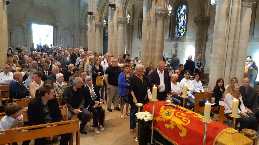 La Normandie a accompagné Michel de Decker jusqu'à sa dernière demeure