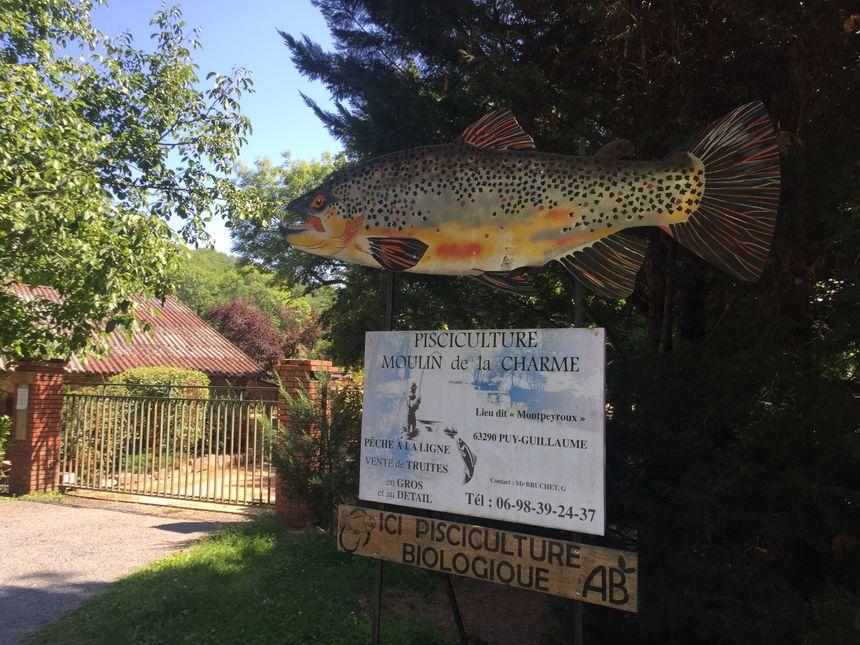 La pisciculture du Moulin de la Charme est fermée