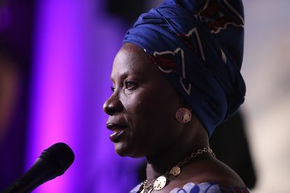 La chanteuse Angélique Kidjo à la Fondation David Lynch au Centre John F. Kennedy pour les arts du spectacle le 5 juin 2017 à Washington.
