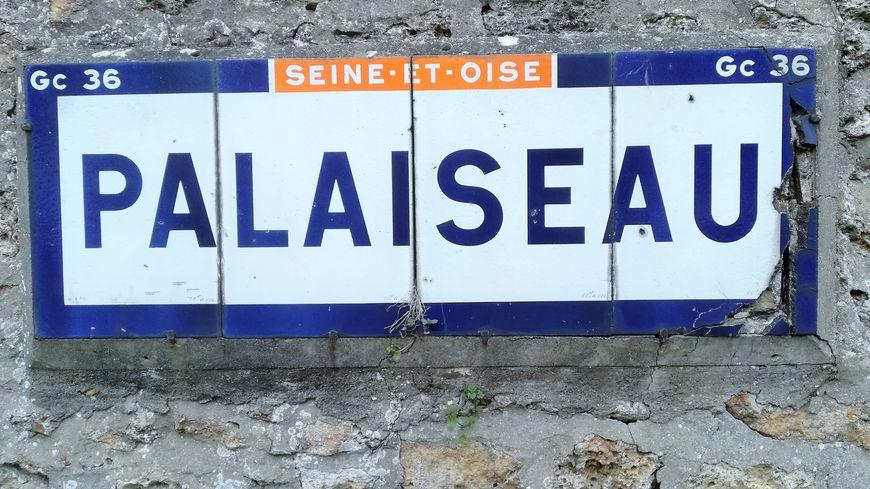 L'ancien Panneau d'entrée de ville de Palaiseau