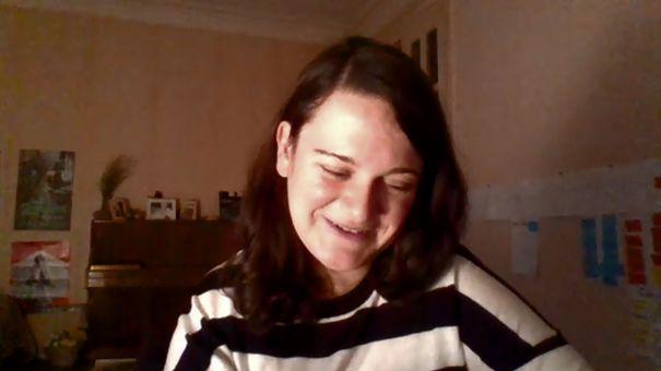Elena Mikaberidze est une jeune réalisatrice géorgienne