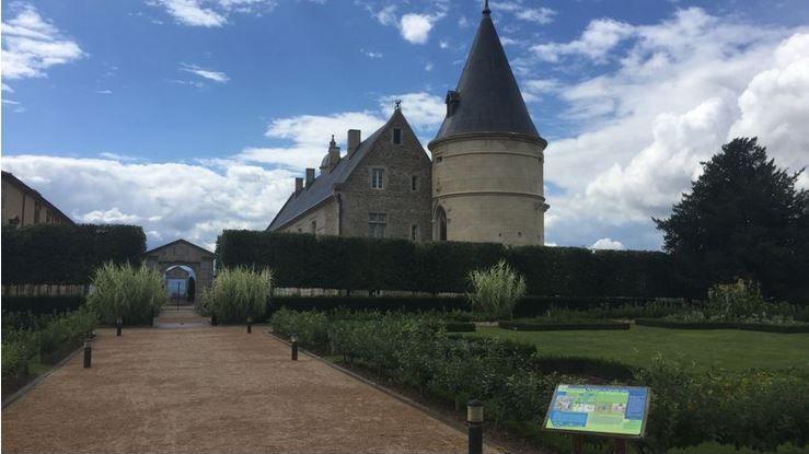 Le château d'Andrézieux-Bouthéon.