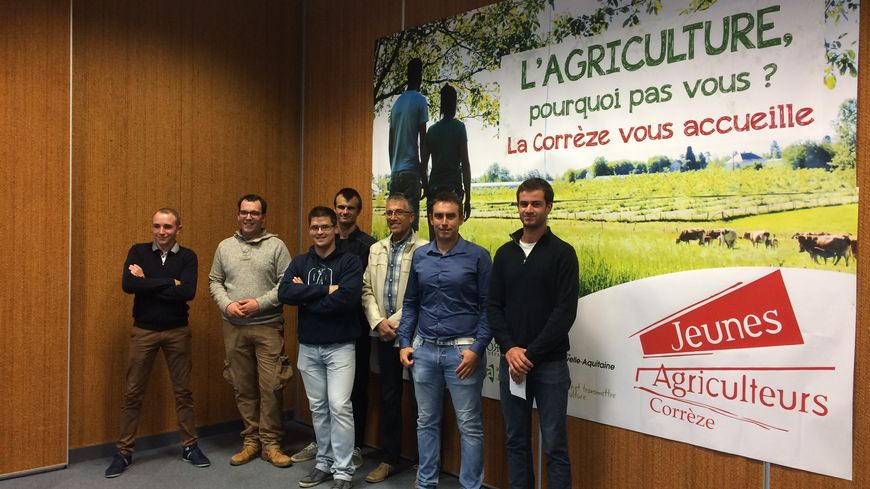 Les Jeunes Agriculteurs veulent faire passer le message : en Corrèze il fait bon vivre de l'agriculture.