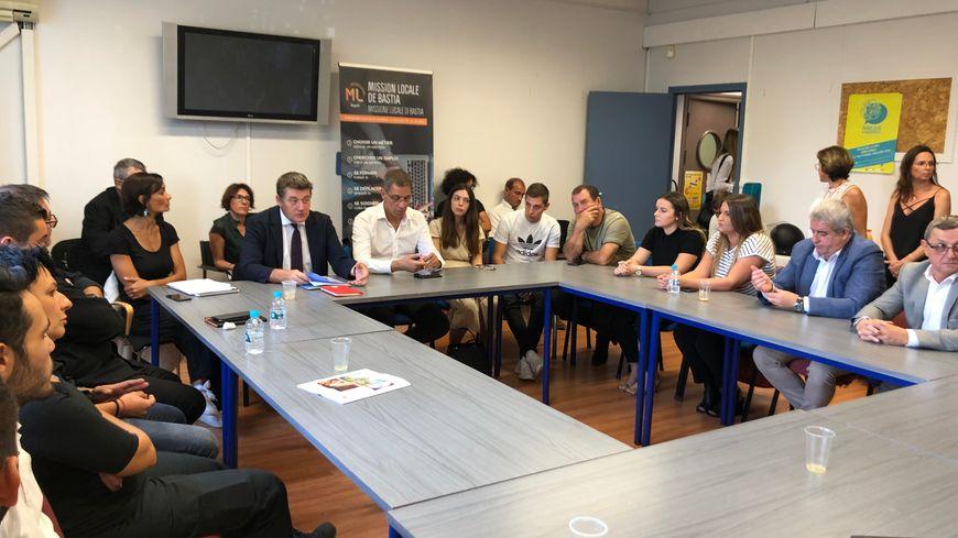 Mercato de l'apprentissage organisé hier à la mission locale de Bastia