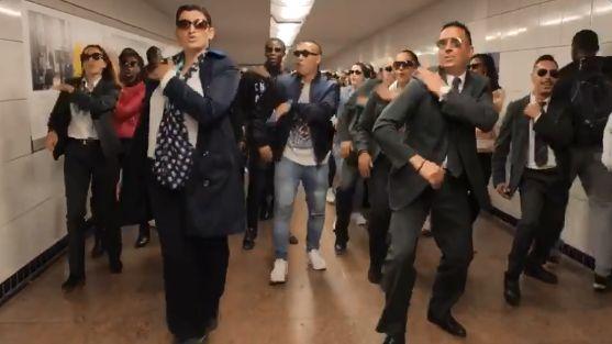 Les agents RATP de la ligne 13 ont réalisé un flash mob sur une chanson de Maitre Gims.