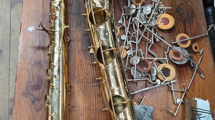 Les instruments qui passent par l'atelier de Cédric