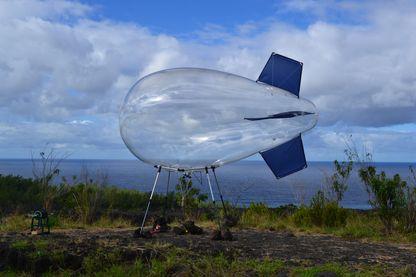 Le ballon Eonef à la Reunion au mois de juin