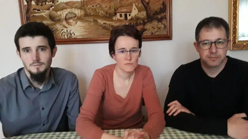Alain, Céline et Olivier Duron vont déposer plainte contre les collègues du gendarme ivre qui a tué leur parents